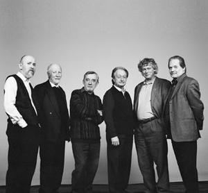 Dukay Barnabás, Jeney Zoltán, Vidovszky László, Sáry László, Kocsis Zoltán és Eötvös Péter