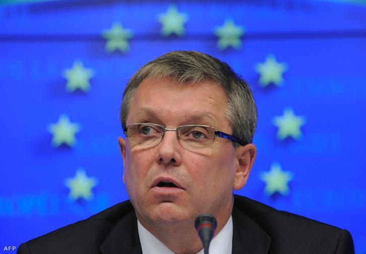 Matolcsy György Brüsszelben (2011.)