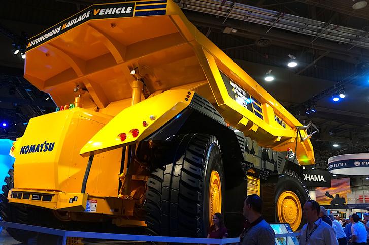 Ha tényleg olyan hatékony lesz, mint gondolják, akkor a bányákból hamar eltűnhet a sofőr szakma