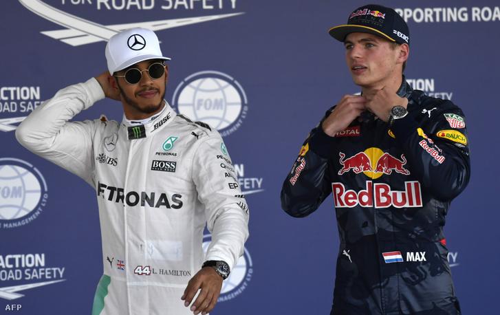 Hamilton és Verstappen