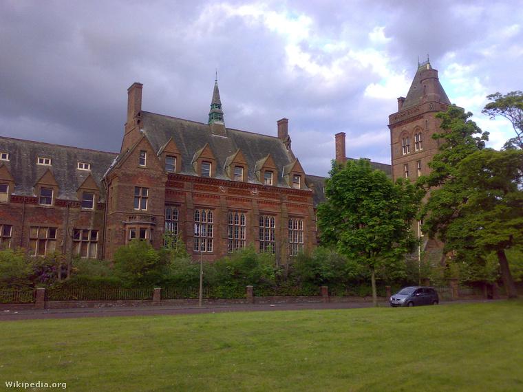 A Newsham Park Hospital épülete