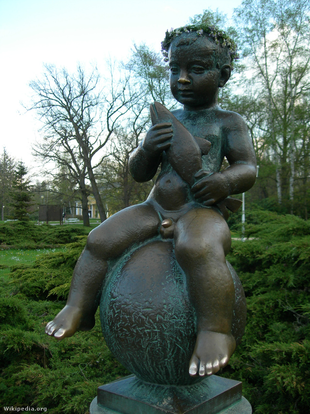 A kis Frantisek szobra