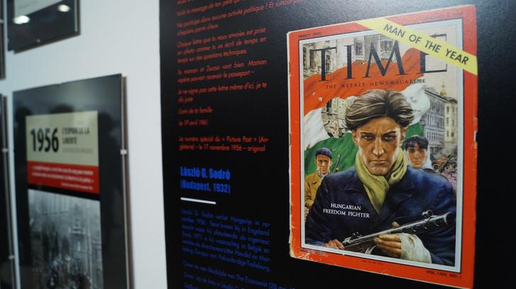 A Time magazin 1957. január 7-én megjelent címlapja.