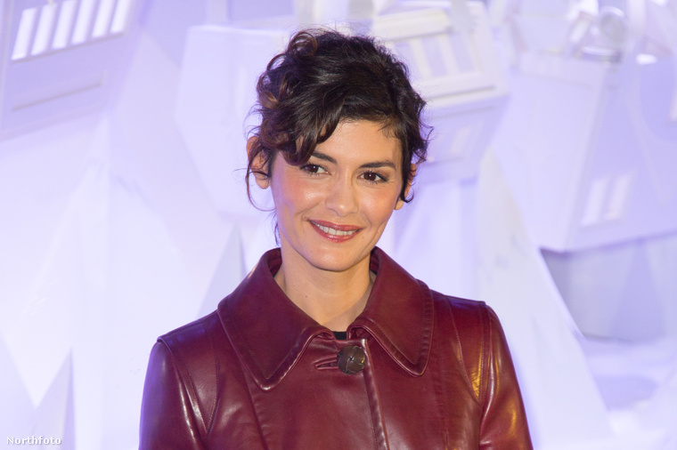 Audrey Tautou, franci színésznő augusztusban töltöttbe a negyvenet