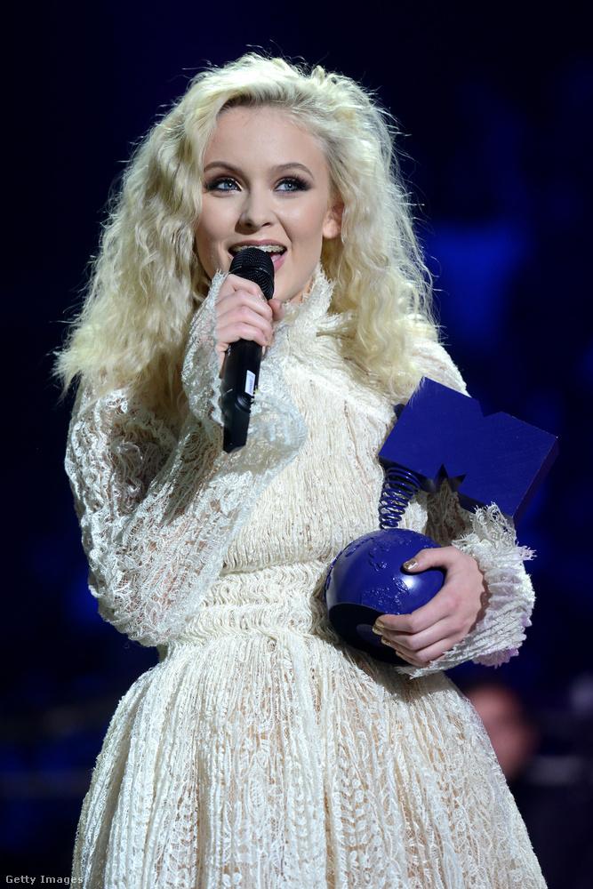Zara Larsson, svéd énekesnő