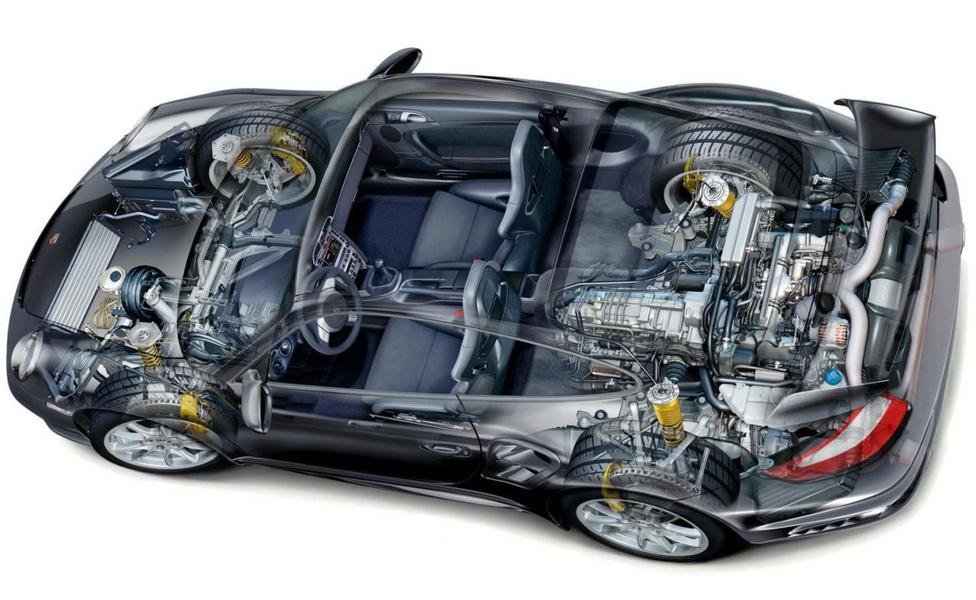 Ma is találkozhatunk röntgenrajzokkal, amik természetesen digitálisan készülnek, mint ez a Porsche. A reprezentatív értéke ugyanaz, az elkészítésük viszont kevésbé tűnik időigényesnek. Személyes véleményem, hogy a kézzel készült verziók szebbek. Kicsit sarkosabbak, kevesebb bennük az áttűnés, de pont a digitálisokhoz mért tökéletlenségük és egyedi stílusuk miatt sajátos varázsuk van.