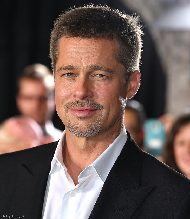 Brad Pitt 52 éves.