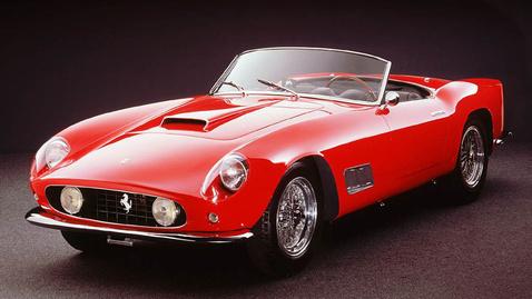1958-as Ferrari 250 GT California Spyder
