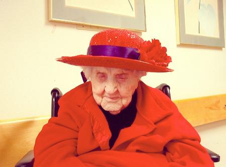 Neva morris 2005 red hat society