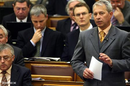 Font Sándor a parlamentben