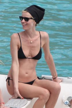 Eva Herzigová is hajózik...