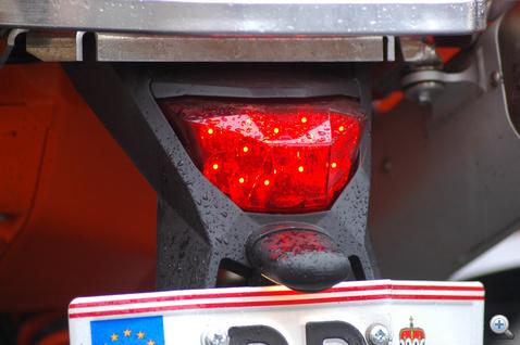 LED világítja be a sokszögű burát
