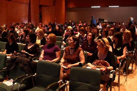 Főleg női látogatók (fotó: Solymossy Gábor)