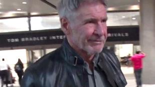 Mai rossz hír: Harrison Ford elhagyta Magyarországot!