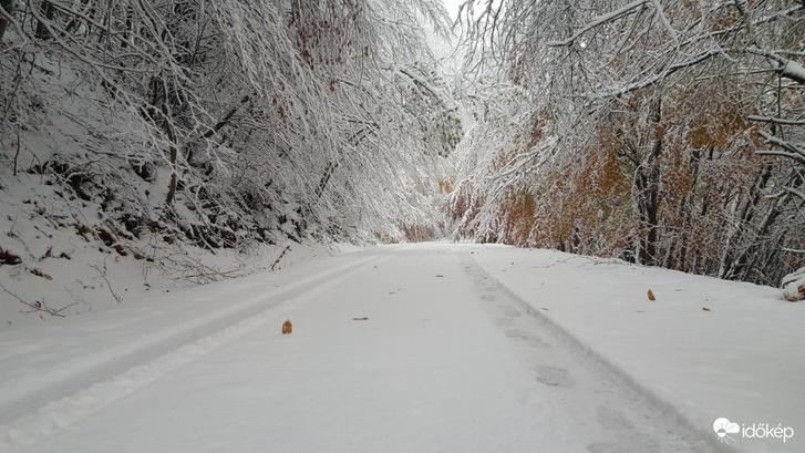 16 cm hó esett a Kőszegi-hegységben