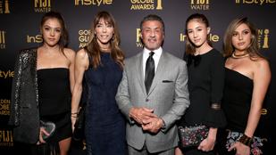 Sylvester Stallonénak újabb oka van arra, hogy büszke legyen a lányaira