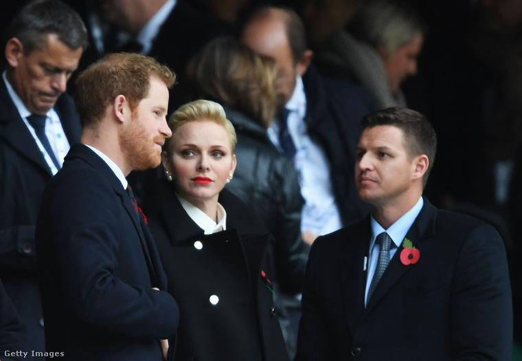 Harry herceg és Charlene hercegné