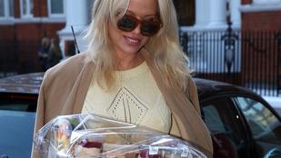 Pamela Anderson vegán kajákkal táplálja a híres szivárogtatót