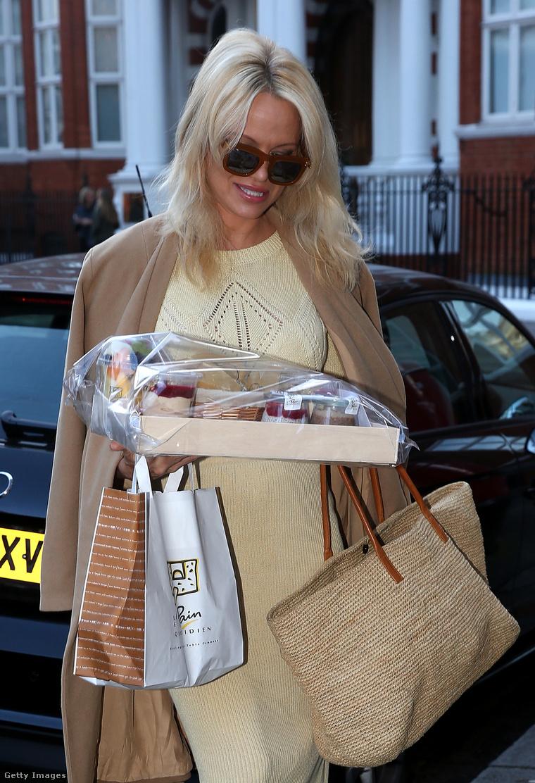 Pamela Anderson alaposan feltankolt a találkozóra