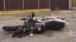 Halálra gázoltak egy motorost Tápiószecsőn