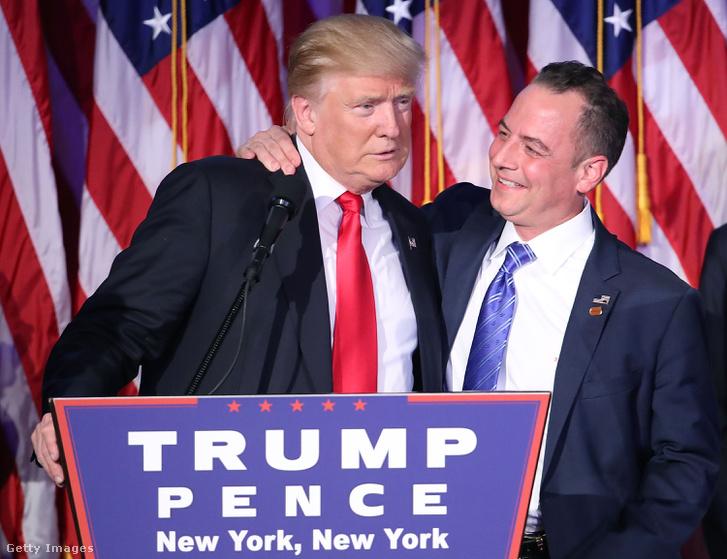 Donald Trump és Reince Priebus