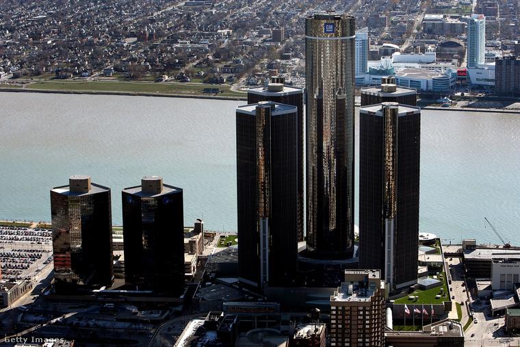 Detroit városa.