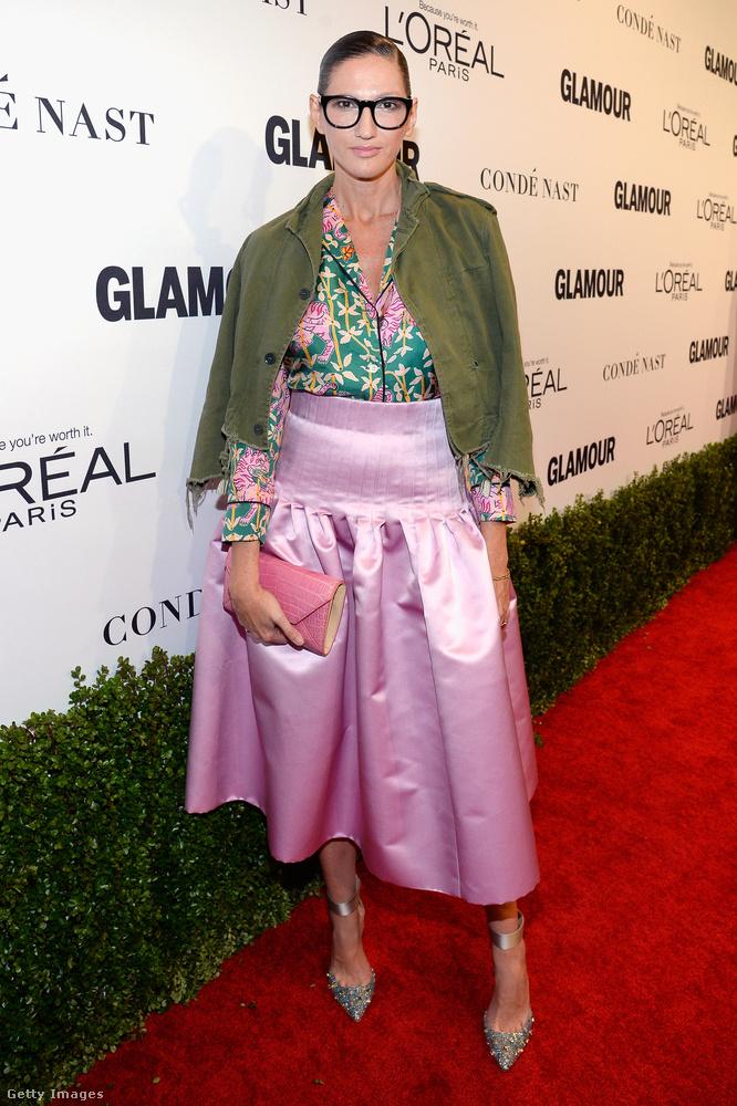 Jenna Lyons nem kifejezetten híres, a J.Crew nevű divatcéget igazgatja