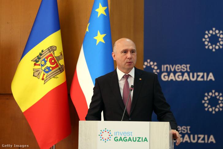 Pavel Filip, moldáv kormányfő.