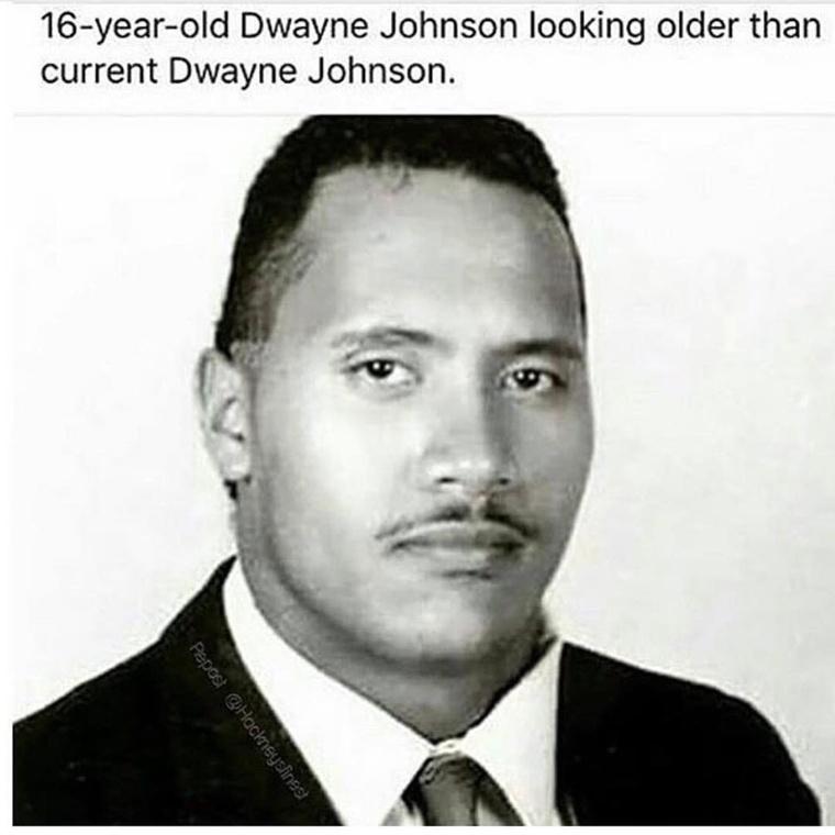 De kezdjük az elején, amikor még Dwayne Johnson 16 volt