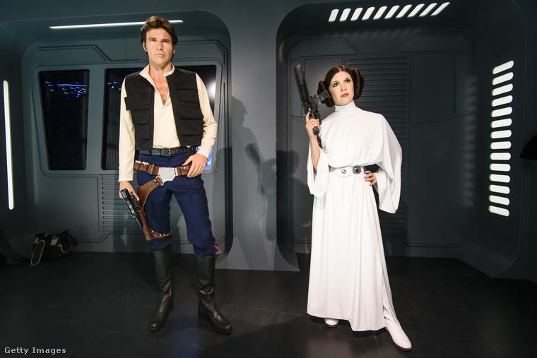 Han Solo és Leia hercegnő.