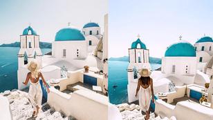 Egy napon arra ébredt, hogy valaki hátborzongató módon másolta le utazási fotóit