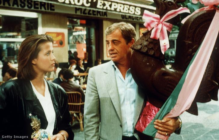1984-ben, Jean-Paul Belmondóval a Kellemes húsvéti ünnepeket című filmben