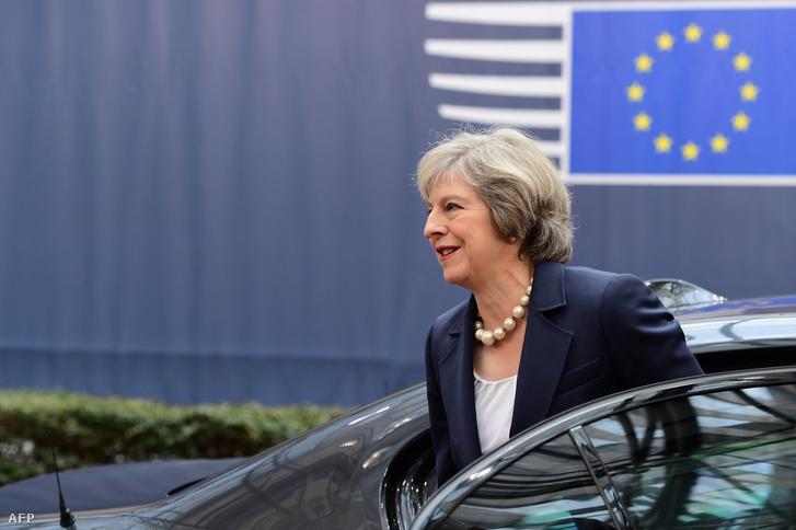 Theresa May miniszterelnök