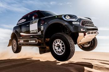 Új Minivel készül a BMW a Dakarra