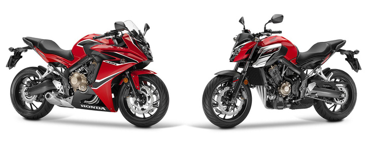 Honda CBR650F és CB650F
