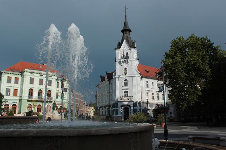 A kaposvári városháza, ahol az ülés zajlott.