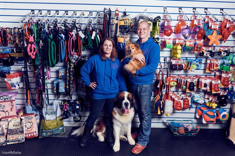 Genevieve és John Parsons a dolgok másik oldalán állnak: az övék ez a bolt