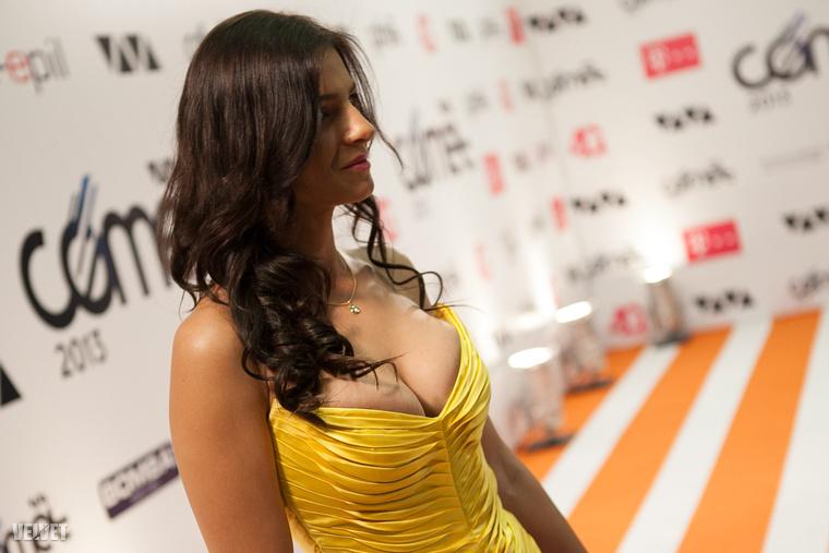 Sarka Kata eléggé TV2-csoportos arc lett, így jelenléte egy RTL-rendezvényen minimum kétesélyes