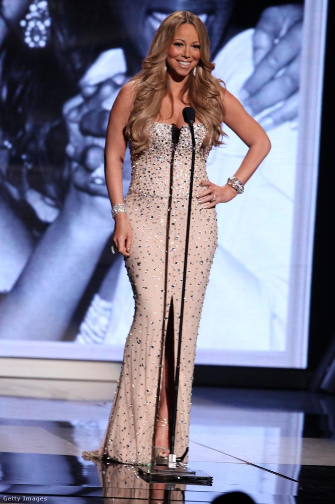 2012 a visszafogott dívaság időszaka volt Mariah Carey életében