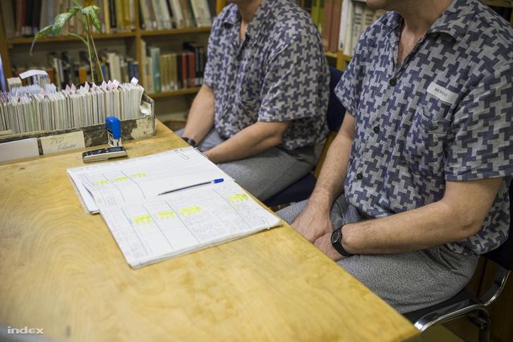 Rabok a Kozma utcai börtön könyvtárában