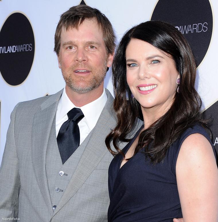 Lauren Graham és Peter Krause egy forgatáson szerettek egymásba és azóta is nagy a boldogság.