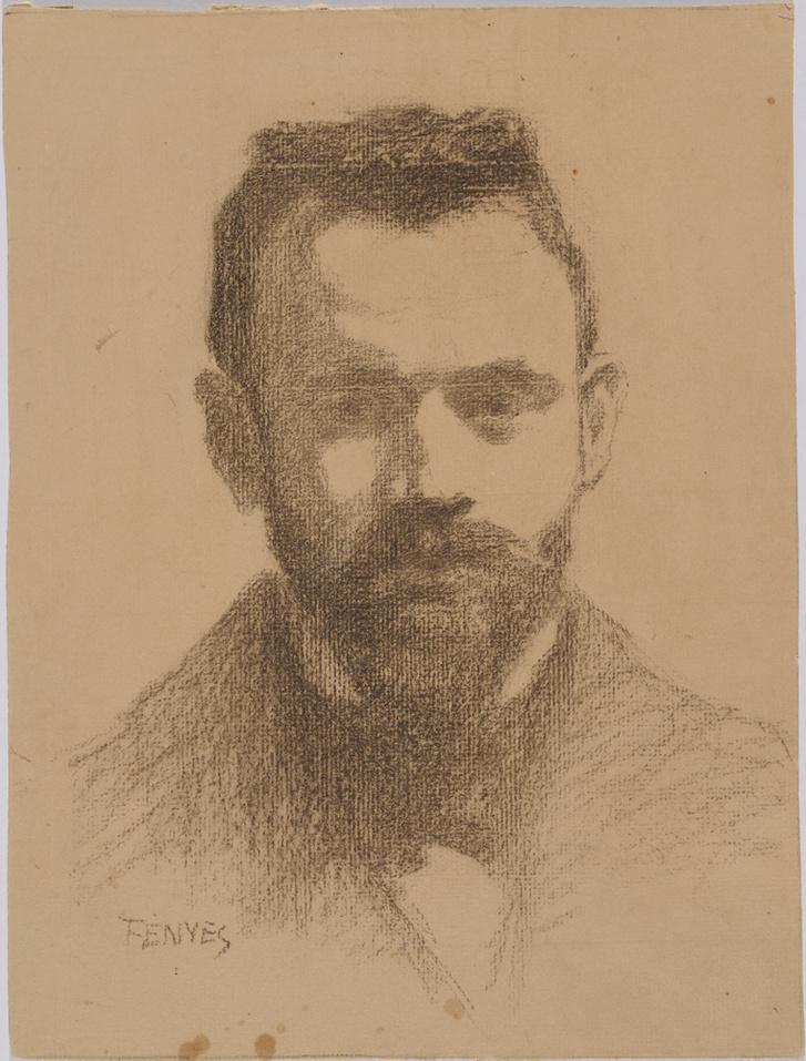 Fényes Adolf: Vedres Márk arcképe,1907