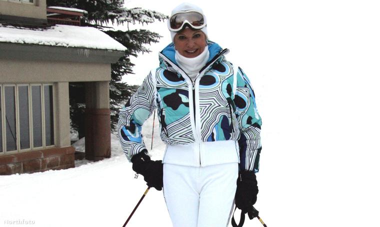 2005 karácsonyán Ivana Trump emlékeztetett arra, hogy ő világéletében nagy síző volt.