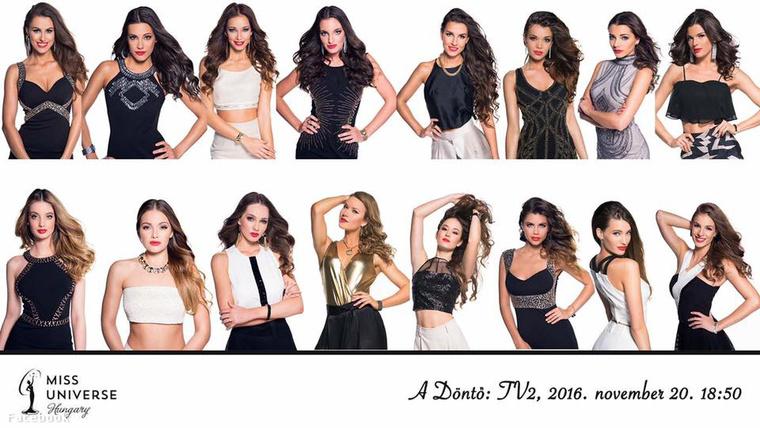 A Miss Universe 2016-os versenyzői.