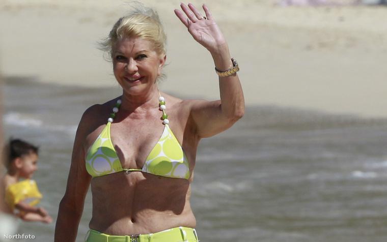 2011-ben Ivana Trump továbbra is elég nyilvánosan élvezte az életet.