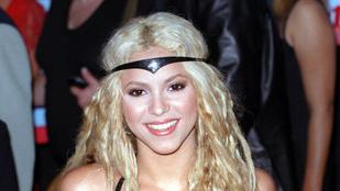 Shakira nem sokat változott a Whenever óta