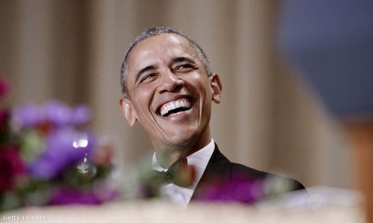 Barack Obama, az Egyesült Államok még hivatalban lévő elnöke.