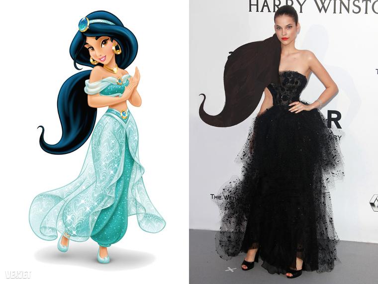 Viszont ahhoz, hogy elmehessen Aladdin nőjének, csak meg kellene növesztenie a haját.