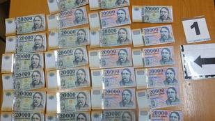 Zsebre tette a másfél milliós bevételt egy debreceni pénztáros
