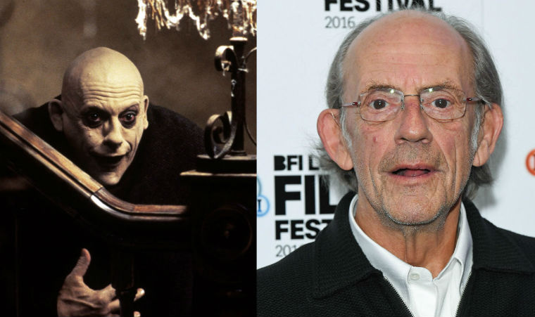 Fester és Christopher Lloyd.
